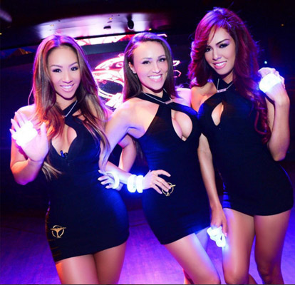 Las Vegas Nightclub Waitresses