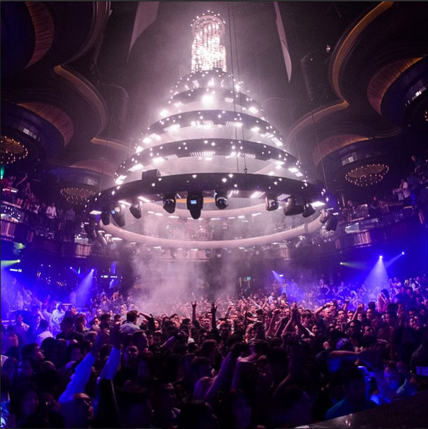 Omnia Nightclub Dancefloor