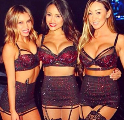 Light Nightclub Waitresses