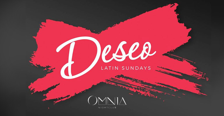 Deseo Latin Sundays Omnia Nightclub