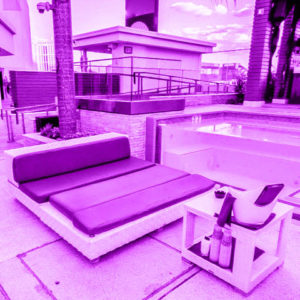 Marquee Nightclub Outdoor Daybed