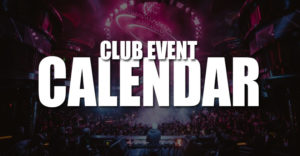 Nightclub Events Calendar