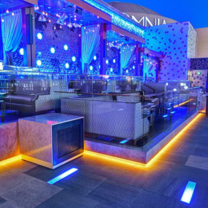 Omnia Nightclub Larger Rooftop Terrace Bottle