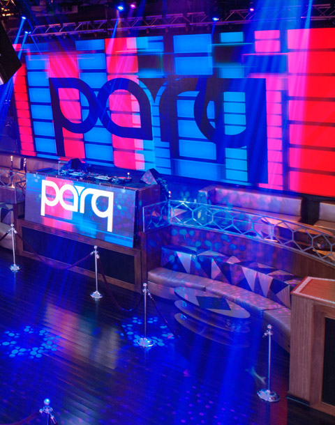 Parq Nightclub Dance Floor Table