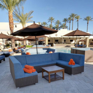 Daylight Beach Club Pool Side Couch Bottle
