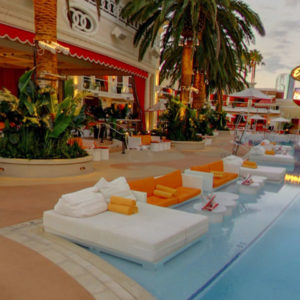 Encore Beach Club Water Couch Bottle