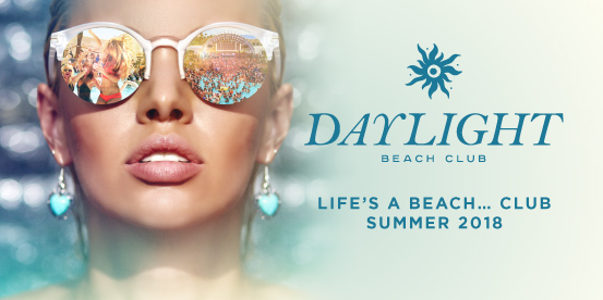 Daylight Beach Club Calendar