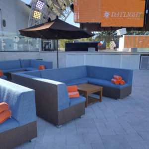 Daylight Beach Club Dance Floor Couch