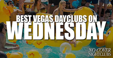 Best Las Vegas Pool Parties Wednesday