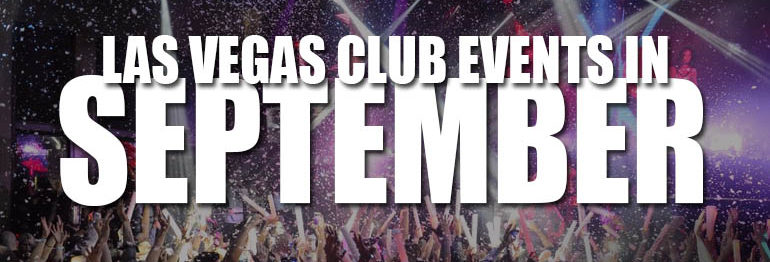 Las Vegas Club Events In September 2021