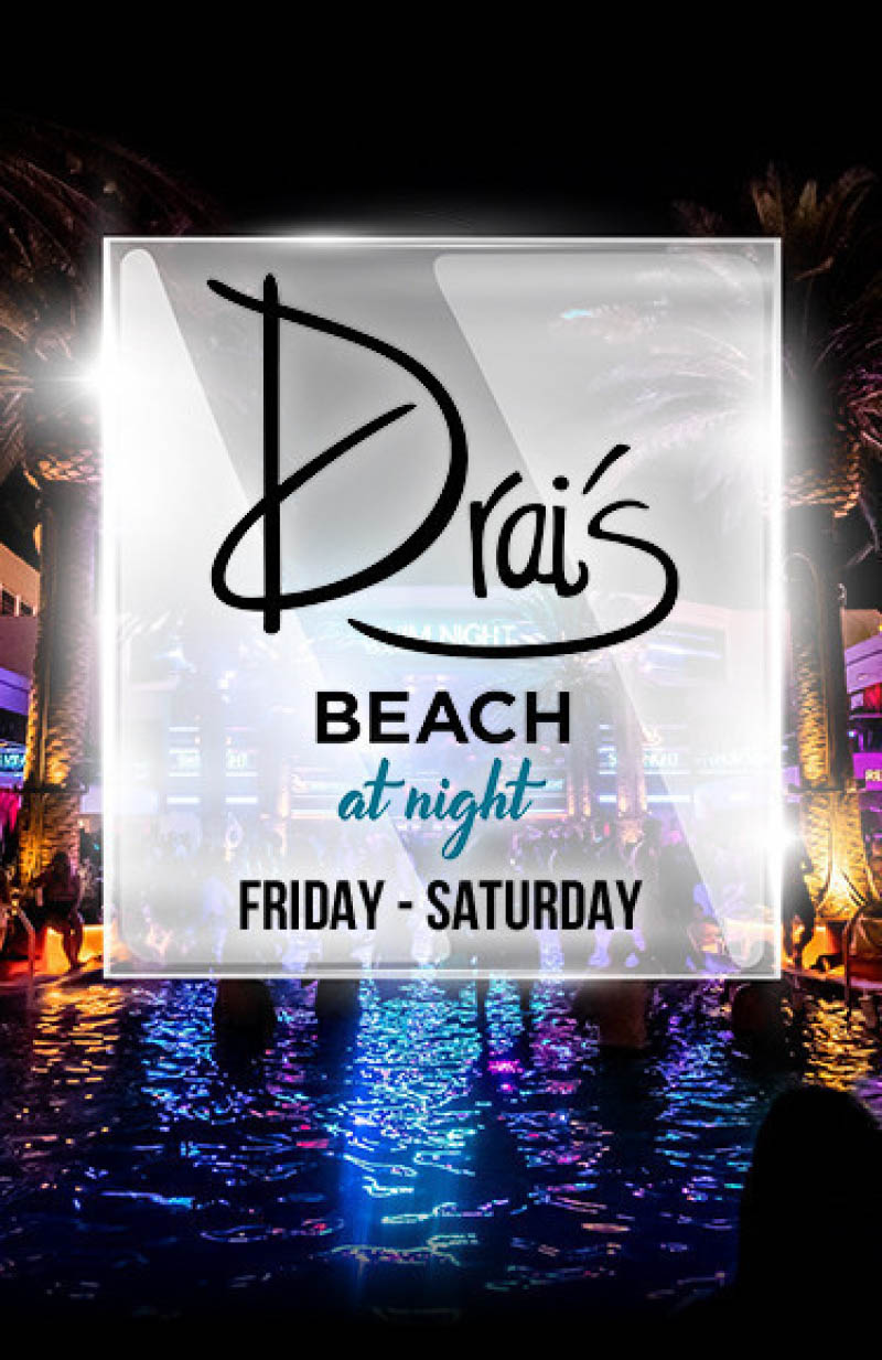 Drais Beach At Night 2021