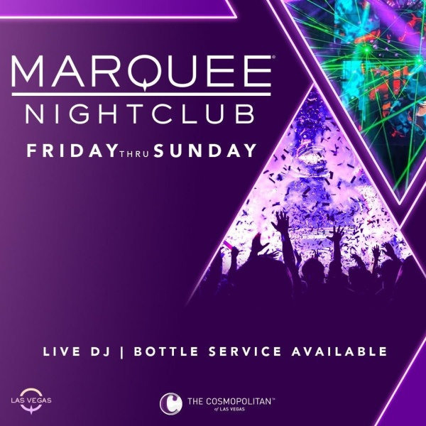 Marquee Nightclub Events Summer 2021