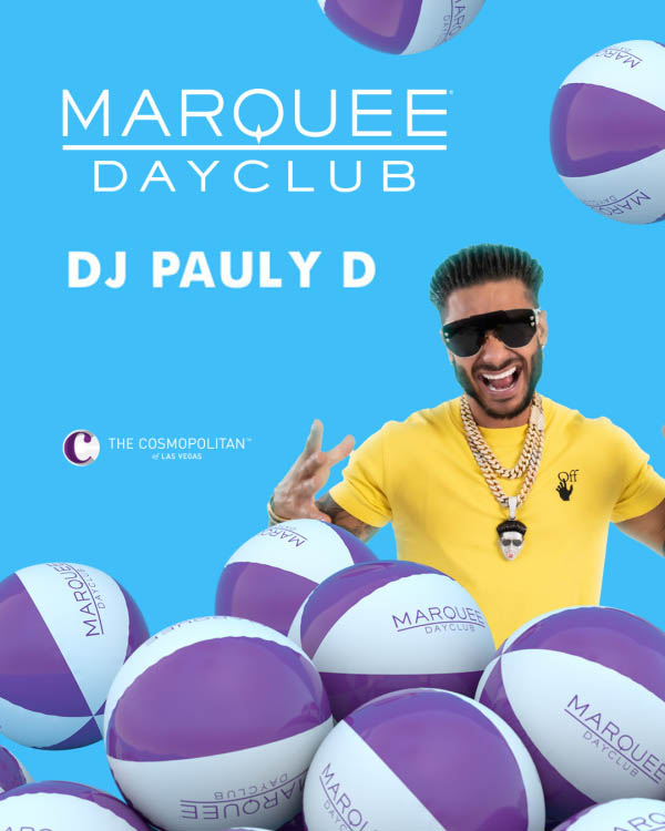 Pauly D Marquee Dayclub Profile